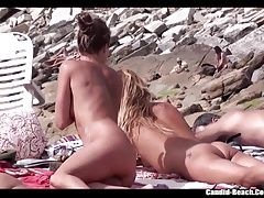 Nudist teens tanning named at...