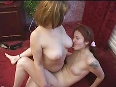 Russian mom and girl 6