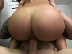 Teen Zaya Cassidy Moaning While...