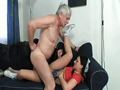 xhamster Old man eating own creampie from...