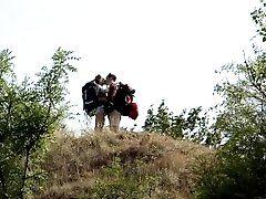 Romantic couple = Camping Sex