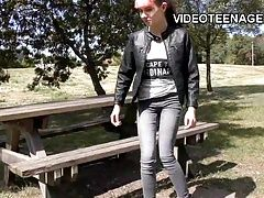 xhamster tiny 18 years old punk teen does...