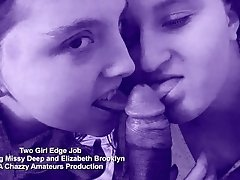 xhamster Two Girl Edge Job of eager black...