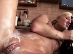 Whipped Cream Blonde Teen...