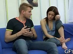 xhamster Cute chick widens legs