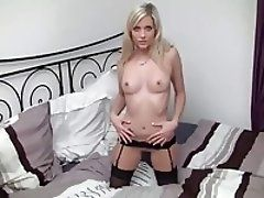 Horny Young Wife In Black...