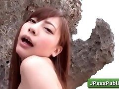 Outdoor JP with Cute Yuria Mano...