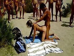 Nudist Sex on the Beach Big...