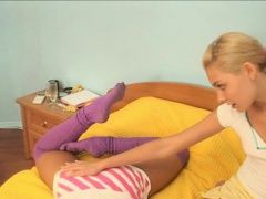xhamster Baby in pantyhose shoves...