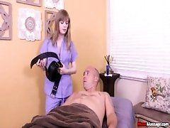 Dirty massage therapist breaks bad