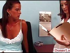 Dr Donny Long tricks big boob...
