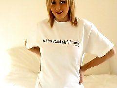 Pierced blonde amateur british...