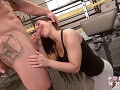 xhamster PURE XXX FILMS Athina Loves the Gym