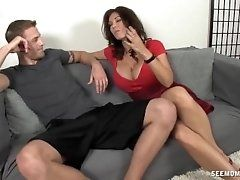 xhamster Hot milf sucks a young...