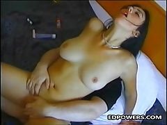 Horny Busty Girl Ride On Ed...