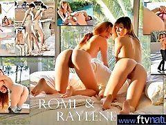 (Raylene &amp_ Romi) Hot...