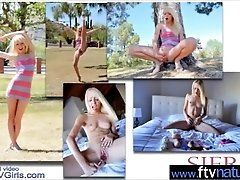 (Sierra) Hot Girl Strip And Use...