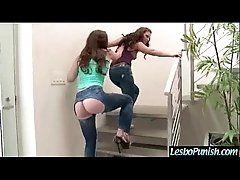 Teen Lesbian Get Sex Dildo...