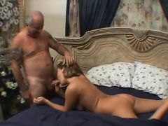 xhamster Sexy blonde gives Granpa some...