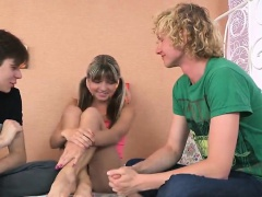 xhamster Stud assists with hymen physical...