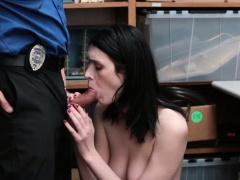 Teen shoplifter Ivy Aura fucked...