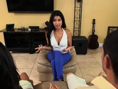Latina stepmom fixes the...