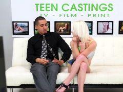 Bdsm blonde teen fingered