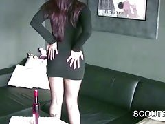 German Nylon Whore get fuck by...