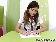 Tricky Old Teacher - Nadya is...