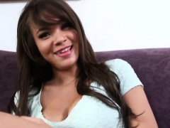 xhamster Brunette teen with big tits...
