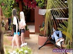 Naughty very hot young neighbors...